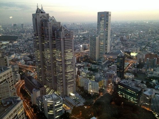 Tokyo Metropolitan Government Buildings : Tokyo Metropolitan Government Office panoramic view