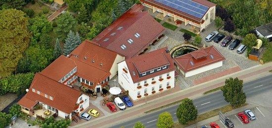 Pension und Gasthof Schondelmaier: Unsere Luftbildaufnahme von 2013
