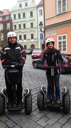 Segway Rent Prague : Our trip on segway:-)