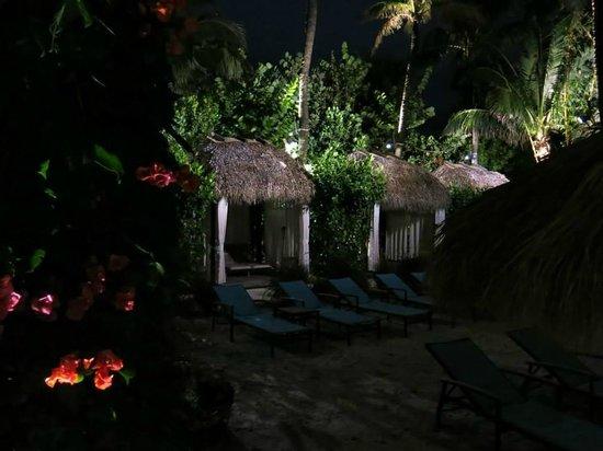 The Palms Hotel & Spa: BANGALÔS PARA DESCANSAR NA PISCINA