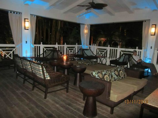 The Palms Hotel & Spa: DECK DO RESTAURANTE