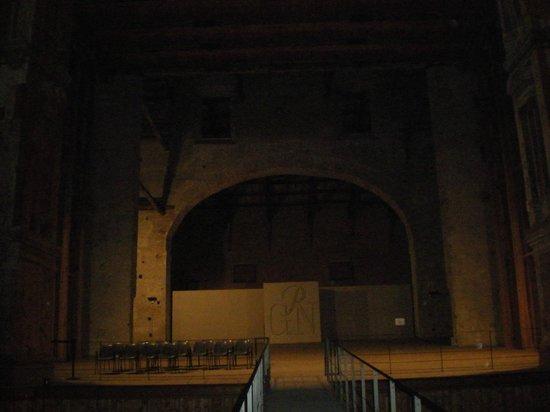 Teatro Farnese : Proscenio, scorcio