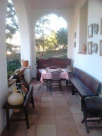 Masia del Montseny Hotel: entrada