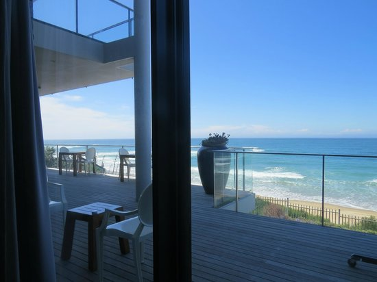 The Ocean View Luxury Guest House: Ausblick