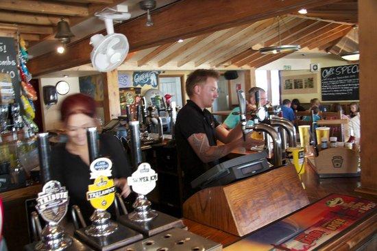 The Oystercatcher: Busy bar