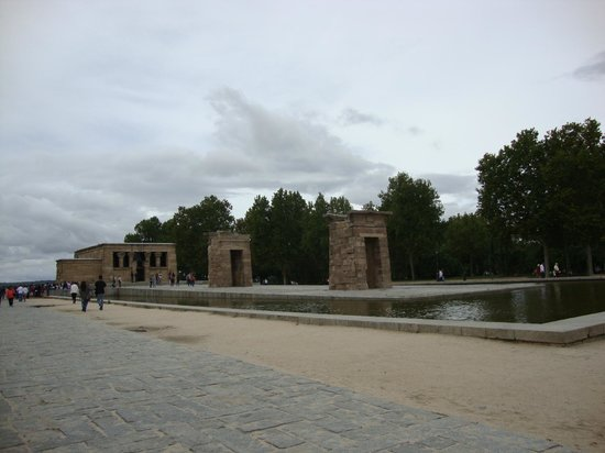 Templo de Debod : veduta