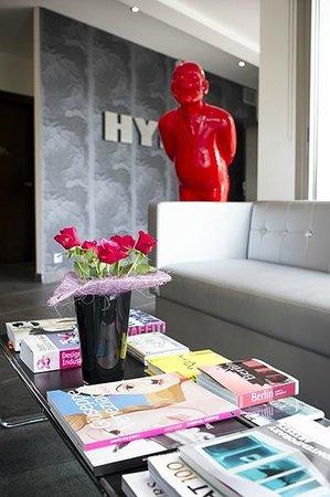Hype Hotel : LA RECEPTION