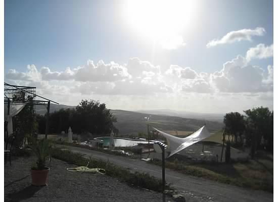 Villa Gaia Seggiano: View from Villa