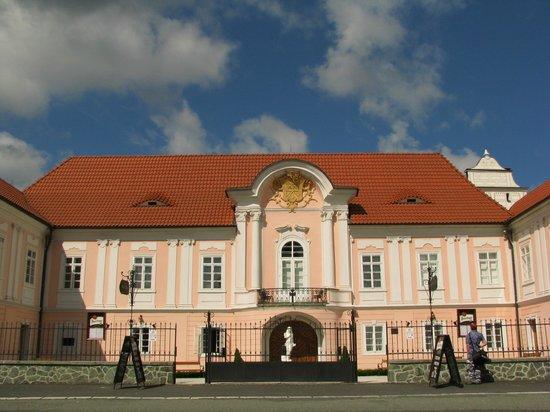 Zamek Hradek: Фасад отеля