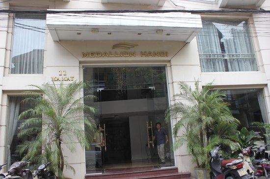 Hanoi Medallion Hotel : Muy centrico y comodo