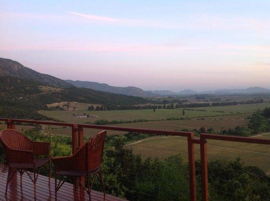 Liz Caskey Culinary & Wine Experiences: Casa Lapostolle view - Colchagua valley