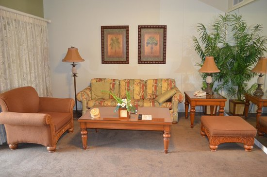 Kona Coast Resort: the couch in the living area
