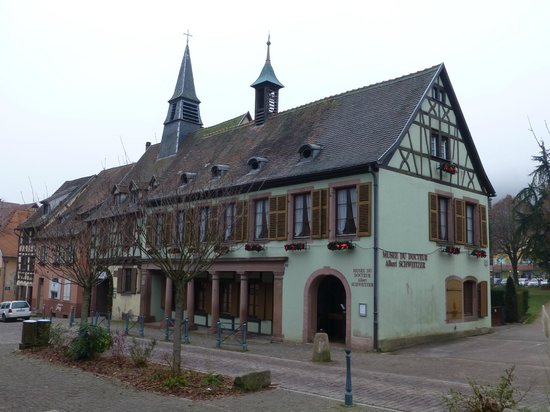 Hotel A l'Arbre Vert : Musée du Dr Schweitzer,près de l'hotel.