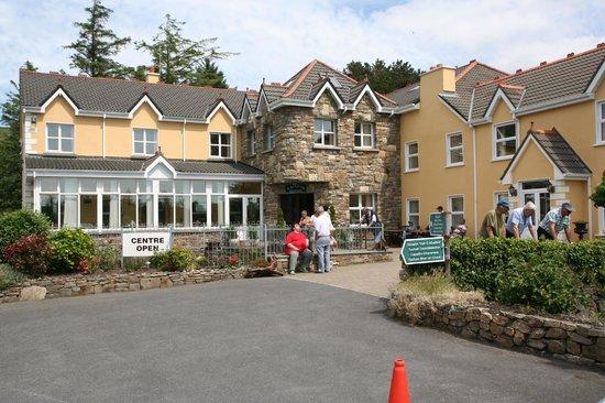 Connemara Heritage and History Centre: Eingang zum Haupthaus