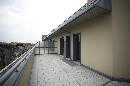 Residence Cristina52 : terrazzo