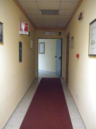 Hotel del Santuario: corridoio