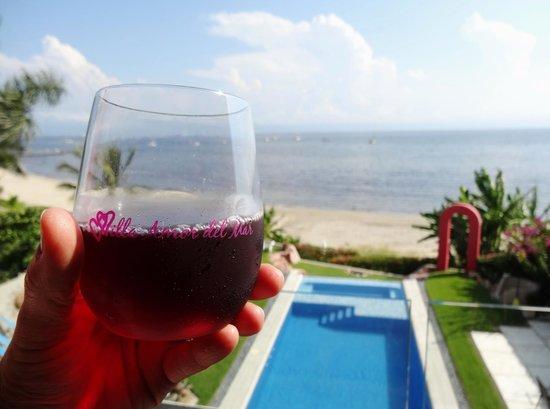 Villa Amor del Mar: Welcome drink !