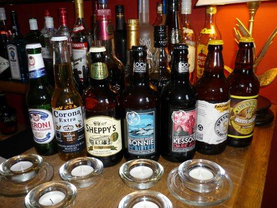 Ardanaiseig Hotel: Well stocked bar