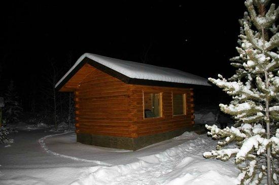 Sundog Retreat: the viewing hut