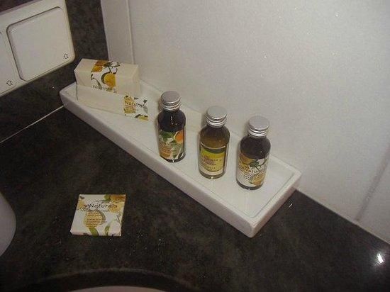 Appartement-Hotel an der Riemergasse: articoli da bagno