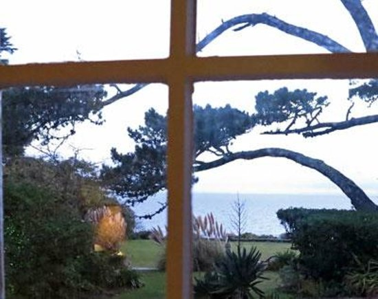 Talland Bay Hotel: View from Room 30