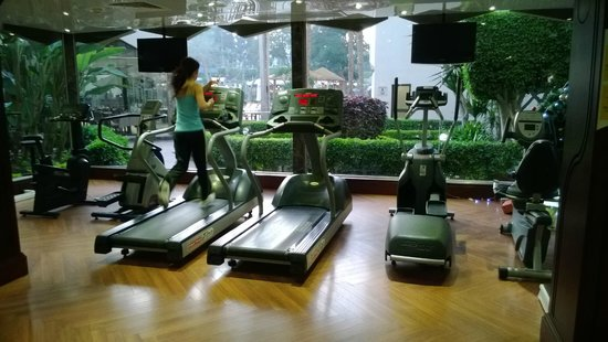 Le Passage Cairo: Gym (open 7am to 11pm)
