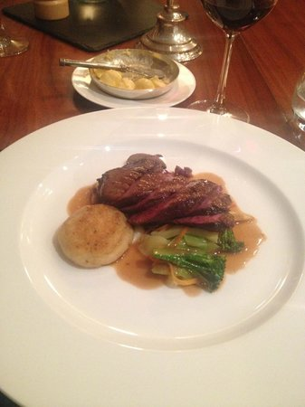 The Glenmorangie House: Mallard main course