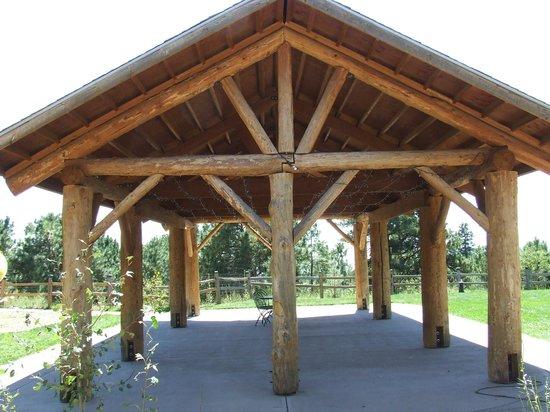 Black Forest Bed and Breakfast: Log Pavilion