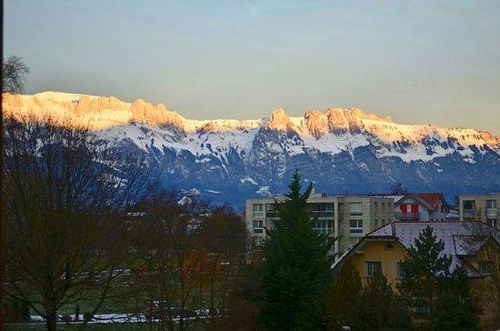 Landhaus am Giessen: Morning view, room 524