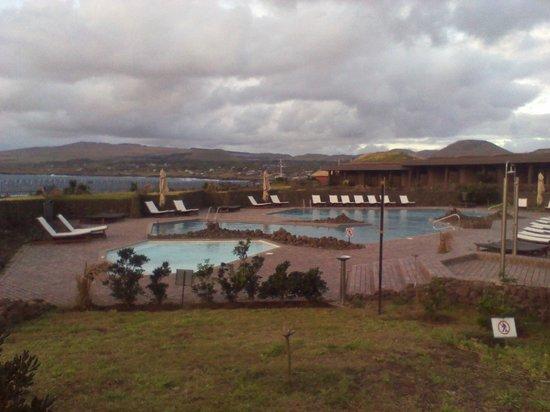Hotel Hangaroa Eco Village & Spa: Nos encanto la piscina