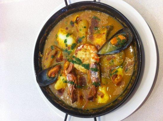 Restaurant L'Aquarium : Suquet de poissons et gambas