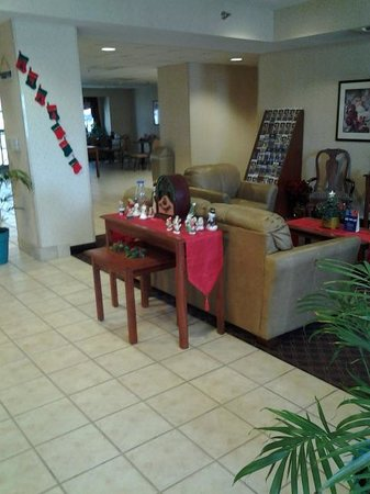 Microtel Inn & Suites by Wyndham Urbandale/Des Moines: All the decorations are so pretty