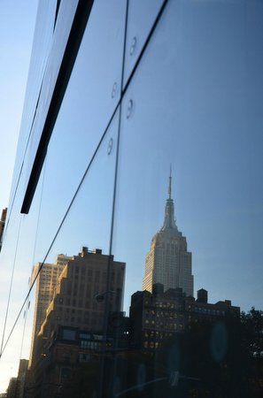 New York City Photo Safari: Reflection of the Empire State Building