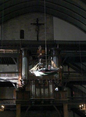 Eglise Saint-Jean-Baptiste : le bateau