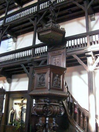 Eglise Saint-Jean-Baptiste : Les balcons