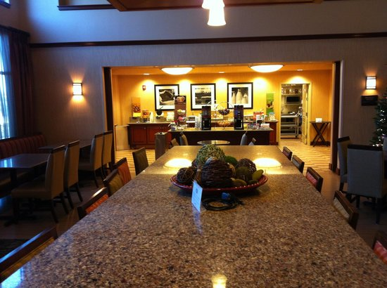 Hampton Inn & Suites St. Louis/South I-55: Breakfast area