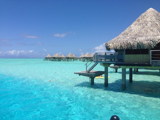 Intercontinental Bora Le Moana Resort Overwater Bungalow