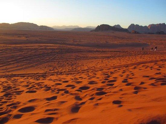 Bedouin Directions: Sunset in Wadi Rum