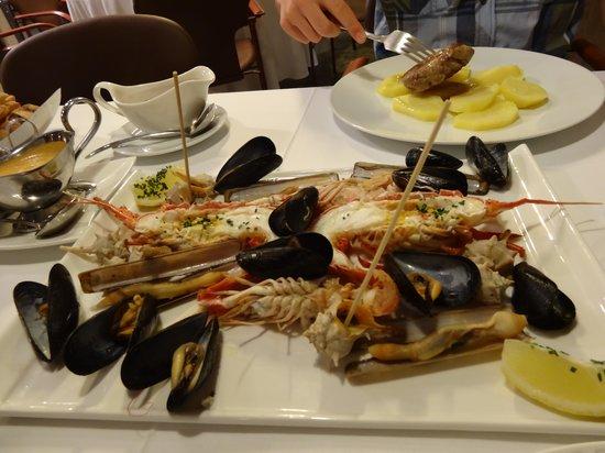 Rincon de Diego: морепродукты