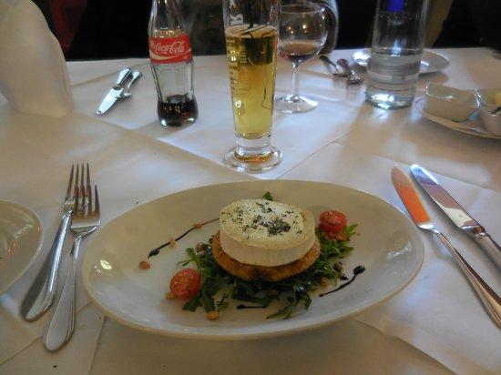Savoy Hotel Berlin : un piatto del menù pranzo