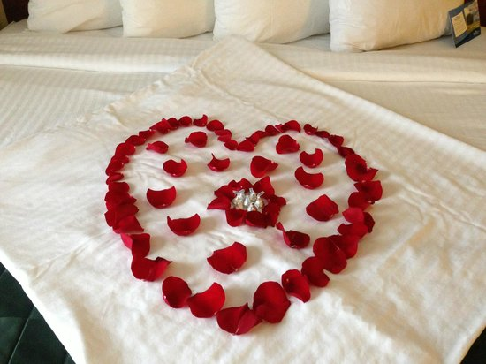Baymont Inn & Suites Mason: Our bed