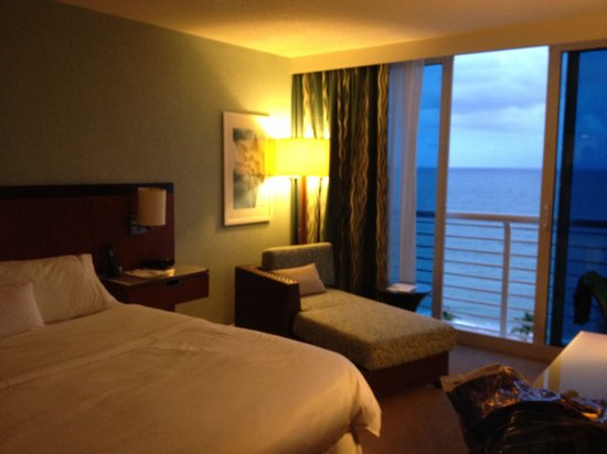 The Westin Beach Resort, Fort Lauderdale: Room with ocean view