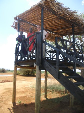 Gamewatchers Adventure Camp, Selenkay : Viewing spot