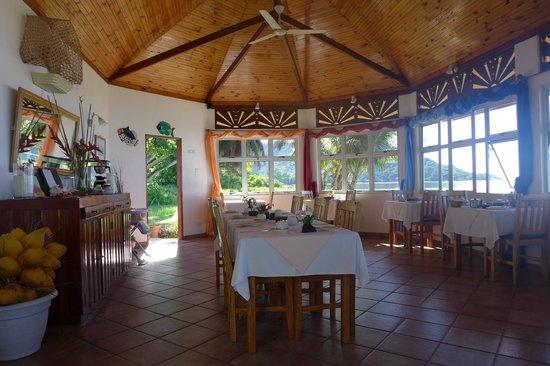 Beach Villa Seychelles : Restaurant