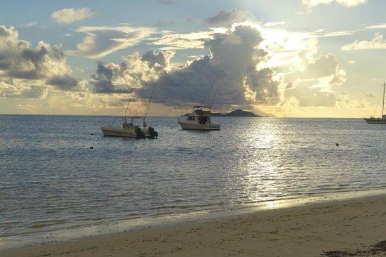 Beach Villa Seychelles: Sonnenuntergang