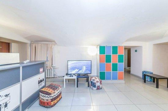 Stella Hostel: lounge zone
