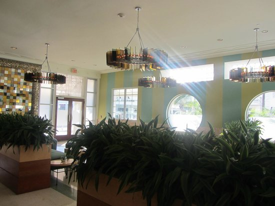 The Hotel of South Beach : The lobby