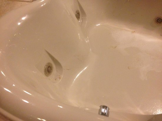 Paradise Stream Resort: slime in tub