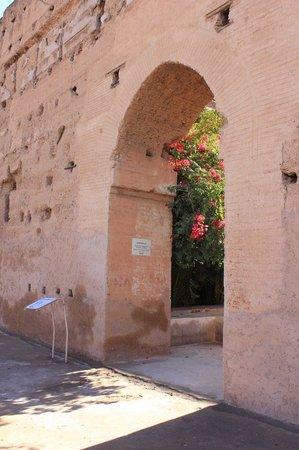 El Badi Palace: Puerta entrada