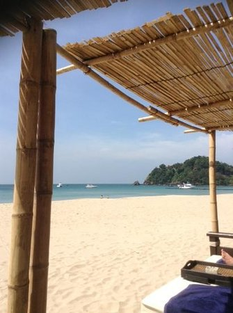 Pimalai Resort and Spa: View from the private beach